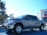 2011 Sterling Grey Metallic Ford F150 XLT SuperCrew 4x4 #42596445