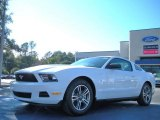 2011 Performance White Ford Mustang V6 Premium Coupe #42596446