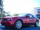 2011 Red Candy Metallic Ford Mustang V6 Premium Coupe #42596449