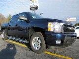 2011 Imperial Blue Metallic Chevrolet Silverado 1500 LT Crew Cab #42596698