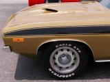 Plymouth Cuda Wheels and Tires