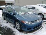 2007 Atomic Blue Metallic Honda Civic EX Coupe #42681509