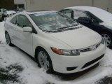 2007 Taffeta White Honda Civic Si Coupe #42681513