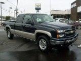 2006 Dark Blue Metallic Chevrolet Silverado 1500 LT Extended Cab 4x4 #42681531