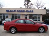 2010 Sangria Red Metallic Ford Fusion S #42681860