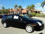 2008 Black Ebony Ford Fusion S #42681702