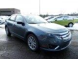 2011 Steel Blue Metallic Ford Fusion SEL #42681726