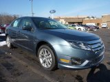 2011 Steel Blue Metallic Ford Fusion SEL V6 #42681728