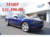 2011 Kona Blue Metallic Ford Mustang GT Coupe #42681749