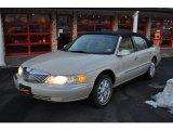 2001 White Pearl Tri-Coat Lincoln Continental  #42682169