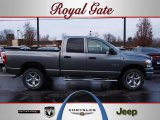 2008 Mineral Gray Metallic Dodge Ram 1500 Big Horn Edition Quad Cab 4x4 #42681609