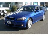 2011 Montego Blue Metallic BMW 3 Series 328i xDrive Sedan #42681634