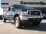 2003 Black Ford F250 Super Duty Lariat Crew Cab 4x4 #42681994