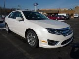 2011 White Platinum Tri-Coat Ford Fusion SEL #42726232