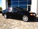 2008 Nighthawk Black Pearl Acura TSX Sedan #42726121