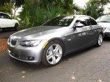 2007 Space Gray Metallic BMW 3 Series 335i Convertible #42726124