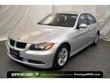 2008 Titanium Silver Metallic BMW 3 Series 328xi Sedan #42726131