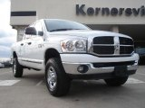 2007 Bright White Dodge Ram 3500 SLT Quad Cab #42726420