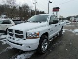 2006 Bright White Dodge Ram 1500 SLT Quad Cab 4x4 #42752590