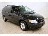 2004 Chrysler Town & Country Brilliant Black Crystal Pearlcoat