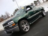 2001 Chevrolet Silverado 1500 Forest Green Metallic
