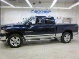 2004 Patriot Blue Pearl Dodge Ram 1500 Laramie Quad Cab 4x4 #42752602