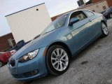 2008 Atlantic Blue Metallic BMW 3 Series 335xi Coupe #42752442