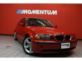 2005 Electric Red BMW 3 Series 325i Sedan #42752891