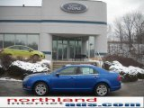 2011 Blue Flame Metallic Ford Fusion SE #42752486