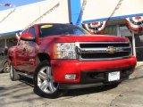 2007 Victory Red Chevrolet Silverado 1500 LTZ Crew Cab 4x4 #42753110