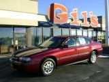 2001 Dark Carmine Red Metallic Chevrolet Impala  #42752570