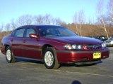 2001 Chevrolet Impala Dark Carmine Red Metallic