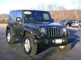 2007 Jeep Wrangler Jeep Green Metallic