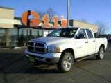 2005 Bright White Dodge Ram 1500 SLT Quad Cab 4x4 #42752573