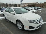 2011 White Suede Ford Fusion SE #42809114