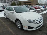 2011 White Suede Ford Fusion SE #42809115