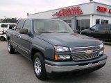 2007 Blue Granite Metallic Chevrolet Silverado 1500 Classic LS Crew Cab #4276100