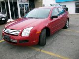 2008 Redfire Metallic Ford Fusion S #42808863