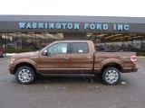2011 Golden Bronze Metallic Ford F150 Platinum SuperCrew 4x4 #42809349