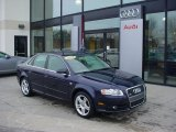 2008 Deep Sea Blue Pearl Effect Audi A4 2.0T quattro S-Line Sedan #42809172