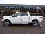 2011 Oxford White Ford F150 Lariat SuperCrew 4x4 #42809360