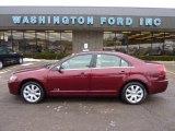 2007 Vivid Red Metallic Lincoln MKZ AWD Sedan #42809370
