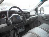 2003 Ford F250 Super Duty XL SuperCab 4x4 Medium Flint Grey Interior