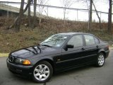 2001 Jet Black BMW 3 Series 325i Sedan #42809378