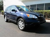 2007 Royal Blue Pearl Honda CR-V EX-L #42808919