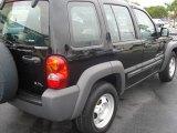 2002 Black Jeep Liberty Sport #391390