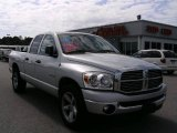 2008 Bright Silver Metallic Dodge Ram 1500 Big Horn Edition Quad Cab #4276115