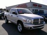 2008 Bright Silver Metallic Dodge Ram 1500 Big Horn Edition Quad Cab #4276116