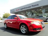 2008 Brilliant Red Audi A4 2.0T S-Line Sedan #42809875