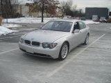 2003 Titanium Silver Metallic BMW 7 Series 745i Sedan #42809533